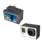 Fat Cat B-P Professional Bacpac LCD Screen Panel for GoPro Hero3+ / Hero3 - Black Grey