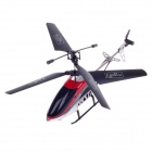 NAN XINAG X984-1A Rechargeable 2.5-CH Zinc Alloy IR Remote Control R/C Helicopter - Red + Black