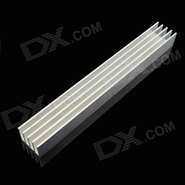 Jtron Aluminum Radiator / LED Light Power Radiator - Silver (150 x 19.7 x 15.6mm) high power 200x99x45mm pure aluminum extruded heatsink cooler heat sink radiator for chip led electronic cooling diy