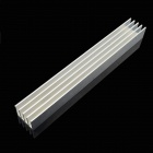 Jtron Aluminum Radiator / LED Light Power Radiator - Silver (150 x 19.7 x 15.6mm)