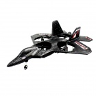 XIN XUN X31 2.4GHz 4-Channel 4-Axis Spacecraft F-22 Stealth Fighter - Black + White