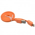 Micro USB 9-Pin Male to USB 2.0 Male Data Sync / Charging Cable for Samsung Galaxy Note 3 - Orange
