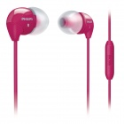 Philips SHE3515PK/00 In-Ear Headset with Mic for Mobile Iphone Samsung (Pink)