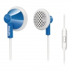 Philips SHE2115BL/00 In-Ear Headset Mic for Mobile Iphone Samsung HTC Nokia