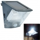 CMI LEH-53369 1-LED 90lm White Light PIR Motion Solar Light / Wall Light / Mounted Light - Black