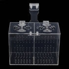 D-2 Non-toxic Security Acrylic Fish Hatching / Isolating Tank - Transparent