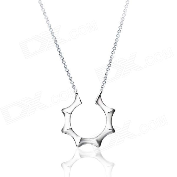 eQute PPEC1M1 316L Stainless steel Sun Shine Pendant Man's Necklace 316l stainless steel wire soft diameter 1mm length 5 meter