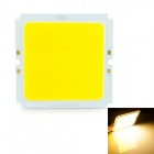 Square 30W 3000lm 3200K LED Warm White Light Source Module - Silver + Yellow (DC 32~36V)