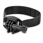 QT06+K3 SLR/DSLR Camera Soft Rubber Wrist Strap Grip Belt - Black