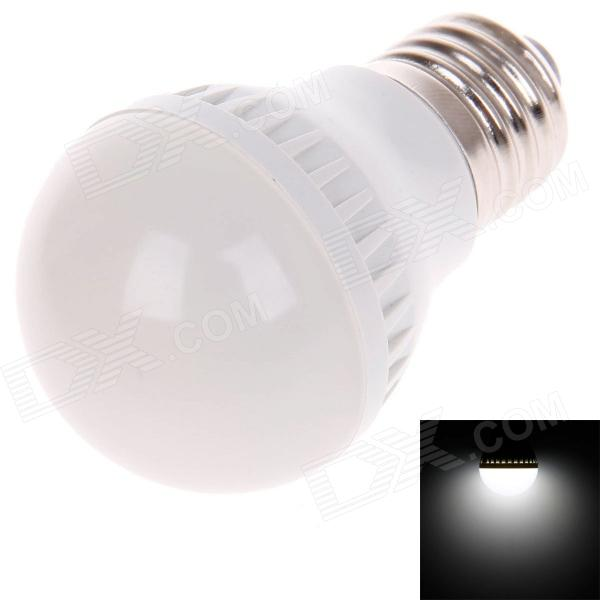 ZMW-1010 E27 3W 220lm 6000K 10 x SMD 2835 LED White Light Lamp Bulb - White (220V)
