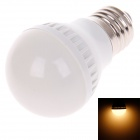 ZMW-1010 E27 3W 220lm 4000K 10 x SMD 2835 LED Warm White Light Bulb - White (220V)