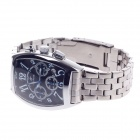 SPEATAK SP9026G Vouge Men's Stainless Steel Band Quartz Wrist Watch w/ Date Display