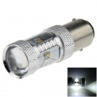 1157 / BAY15D 30W 600lm White Car Brake / Backup / Steering / Tail Light w/ 6-Cree XB-D R3 (12~24V)