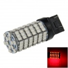 7443 / 7440 / T20 6W 600lm 120 x SMD 3528 LED Red Car Steering / Brake / Backup / Tail Light - (12V)