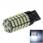 7443 / 7440/T20 6W 600lm 120 x SMD 3528 LED White Car Steering / Brake / Backup / Tail Light - (12V)