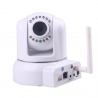 CPTCAM CP-8H802W 0.3 MP CMOS H.264 P2P Wi-Fi Wireless IP Camera - White