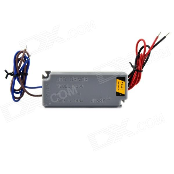 JK030 Waterproof 2A 24W Constant Voltage Power Supply - Grey (AC 100~240V) jlnke jkf60 waterproof 2 5a 60w constant voltage power source led driver grey 100 240v