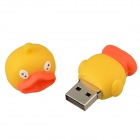 Cute Cartoon Duck Style USB 2.0 Flash Drive Disk - Yellow + Orange (16GB)
