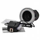 Meike FC100 LED Macro Flash Ring Flash Continuous Light for Canon / Nikon - Black