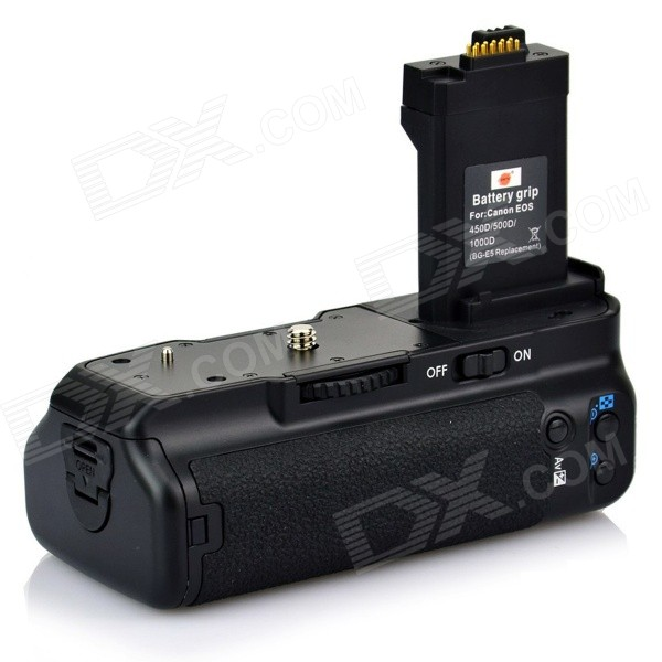 Dste BG-E5 Battery Grip for Canon EOS 450D 500D 1000D / Rebel XSi T1i XS / Kiss Digital X2 X3 F