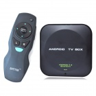 DITTER T25 Quad-Core Android 4.2 Google TV Player w/ 1GB RAM, 8GB ROM, Bluetooth + Air Mouse - Black