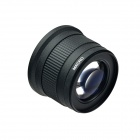 HighPro 72mm 0,42 X Super Wide Angle Fish Eye Pro digitale AF Macro obiettivo - nero (UV 82mm)