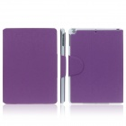 ENKAY ENK-3145 Protective PU Leather Smart Case w / Card Slot Stand for Ipad AIR / Ipad 5 - Purple