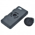 Bike5 Bike Handle Mounted 360' Rotating Rainproof Shock Resistant Case for iPhone 5 - Black