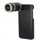 8X Detachable Telephoto Lens Set for Iphone 5C - Black + Silver