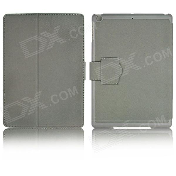 Super Slim Flip Stand Cover Leather Case for Ipad AIR / Ipad 5 - Grey seed dormancy and germination