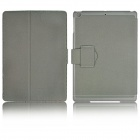 Super Slim Flip Stand Cover Leather Case for Ipad AIR / Ipad 5 - Grey