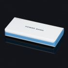 BP 15600mAh High-Quality Portable  Mobile Power Bank for Iphone 5S / Samsung / HTC - White + Blue