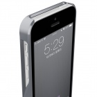 HOTGO Protective Aluminum Alloy Back Case for Iphone 5 / 5s - Black