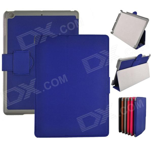 Angibabe Super Slim Flip Stand Cover Leather Case for Ipad AIR / Ipad 5 - Dark Blue g case slim premium чехол для ipad air blue