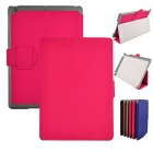 Angibabe Super Slim Flip Stand Cover Leather Case for Ipad AIR / Ipad 5 - Deep Pink