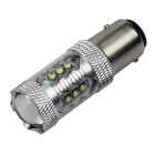 1157 / BAY15D 80W 900lm White Car Brake / Backup / Steering / Tail Light w/ 16-Cree XB-D R3 (12~24V)