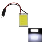 T10 / BA9S / Festoon 31mm~42mm 1.5W 150lm 21 x COB LED White Car Interior Dome Light - (12V)