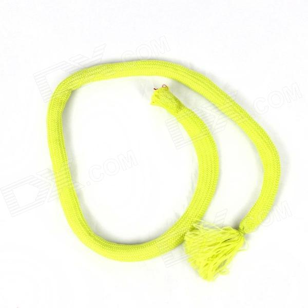One Second Become Silk Scarf Magic Props - Fluorescent Green + Red