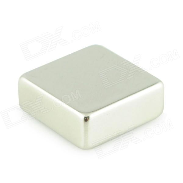 25 x 25 x 10mm Powerful NdFeB Magnet - Silver