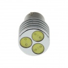 1156 / BA15S 3W 100lm 3-LED White Light Car Steering / Brake / Tail / Backup Light - (12V)