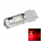 3157 / 3156 7.5W 500lm 700nm 5-LED Red Car Brake / Backup / Steering / Tail Light Lamp - (12~24V)