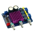lm1036n 2x50W High-Power D Type Digital Amplifier Board - Blue