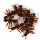 Herramientas de Broma hormigas artificiales - Red Brown (10 PCS)