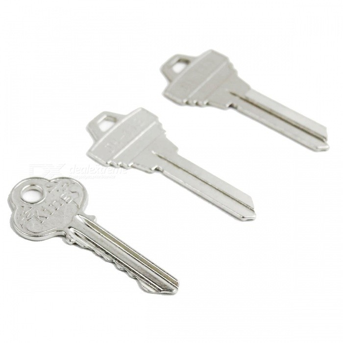 Strange Keys Magic Props - Antique Silver keys to the castle