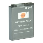 DSTE EN-EL12 Li-ion Battery for Nikon Camera - Dark Grey