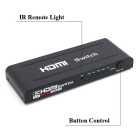 5-Port HDMI 1.3 Switch with IR Remote Controller (5-in 1-out)