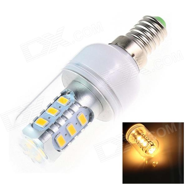 GCD F38 E14 6W 380lm 2500K 15 x SMD 5730 LED Warm White Light Lamp Bulb - White (AC 110~130V) marsing e14 frosted cover 10w 1000lm 3500k 56 x smd 5730 led warm white light bulb lamp ac 220v