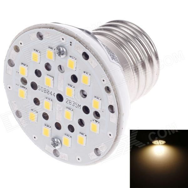SUOBO E27 3W 339lm 3000K 3-SMD 2835 LED Warm White Light Lamp - Silver + White (85~265V) 5pcs 20 20 6mm high quality aluminum heat sink for led power memory chip ic diy r179t drop shipping