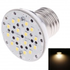 SUOBO E27 3W 339lm 3000K 3-SMD 2835 LED Warm White Light Lamp - Silver + White (85~265V)