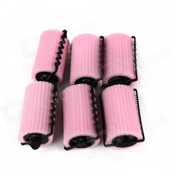 Hair Care Device - Pink (6 PCS)